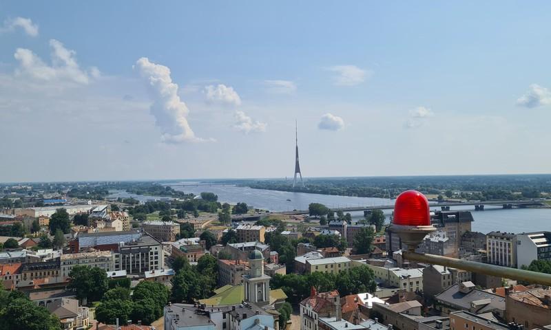 Латвийские каникулы: Панорама Рига