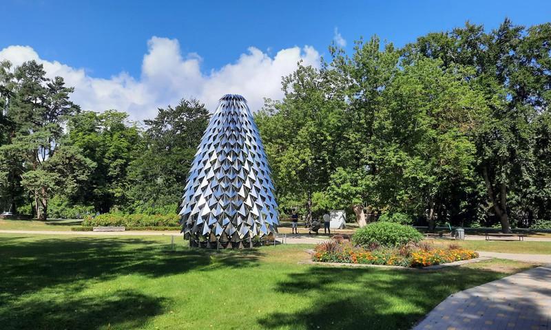 Культурный квартал и парк в Дубулты