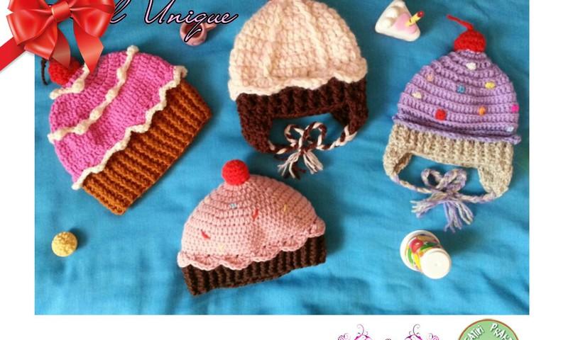 Праздничный каталог подарков Huggies®: вязаные шапочки Kiduniuqe