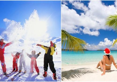 Уже завтра первая ОНЛАЙН-КОНФЕРЕНЦИЯ Клуба путешественников. Идеальный зимний отпуск это: горнолыжные курорты или жаркие пляжи?