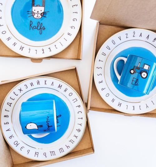 На Конгрессе мам можно будет заказать уникальные именные комплекты посуды IK ROTĀ!