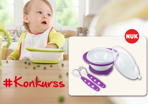 Facebook конкурс: выиграй обучающий комплект NUK для своего малыша!