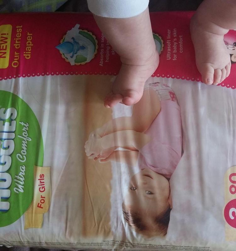 В RIMI скидка на Huggies Newborn и Ultra Comfort
