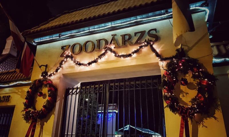 Зимние ночи в Рижском зоопарке