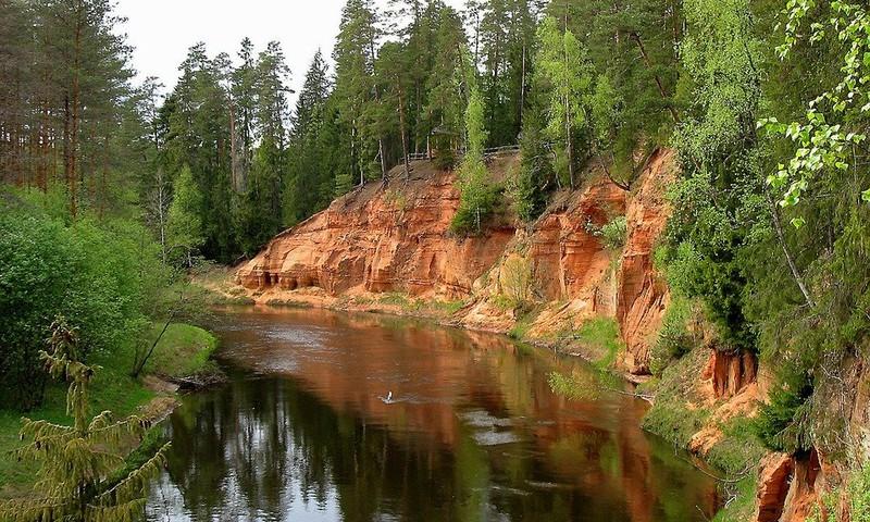 На карте собраны закрытые по причине всеобщего карантина природные объекты Латвии