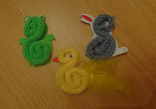 Детское вязание. Очень увлекательно!