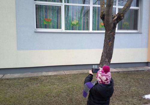 Виктория: Это весна, потому что на окнах растут цветы