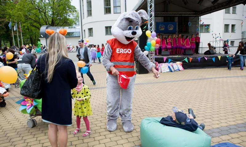 Во время фестиваля ERGO рассказывали о возможностях накопления на образование для ребёнка