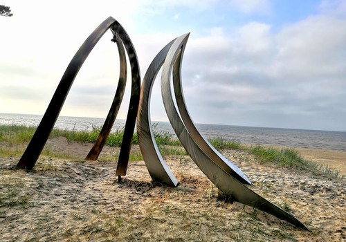 Лето, ах лето: на краю Латвии или место встречи двух морей – мыс Колка