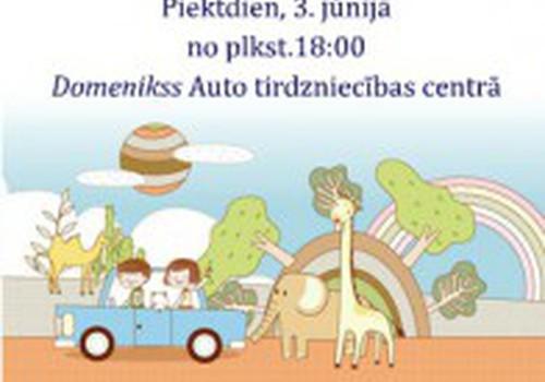 """Приглашаем родителей и детей провести вечер 3 июня в """"Domenikss""""!"""