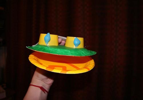 Развиваем дома: лягушка-квакушка