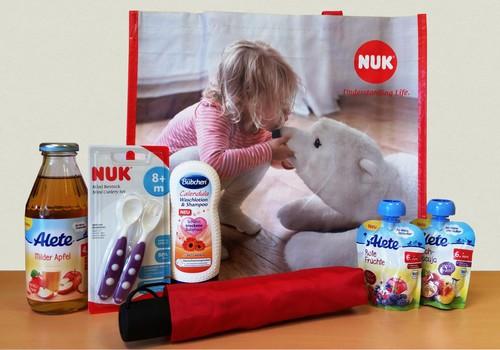 На Параде колясок NUK вручит особый подарок!