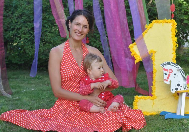 Первый день рождения Алеси