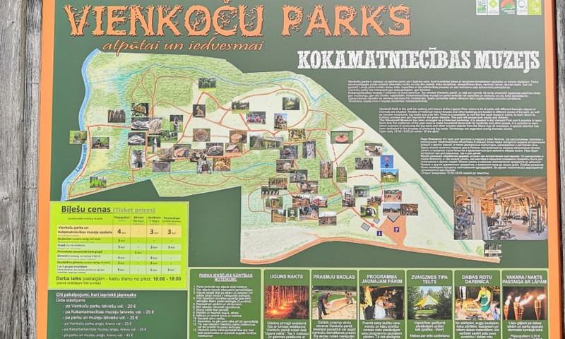 Единение человека и природы -  парк «Виенкочи»
