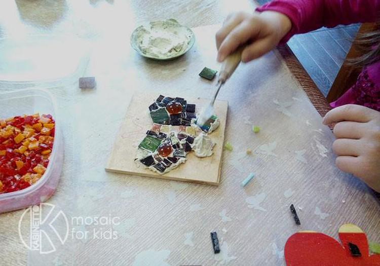 Еще один приз для юных мастеров мозаики!