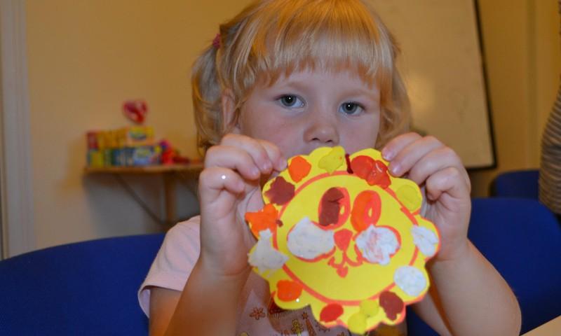 Развивающее занятие для детей с 3 до 5 лет: занятие ведёт Сабина Бакилина