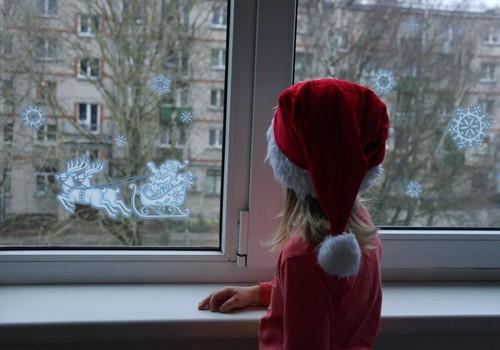 Украшаете ли вы окна к зимним праздникам?