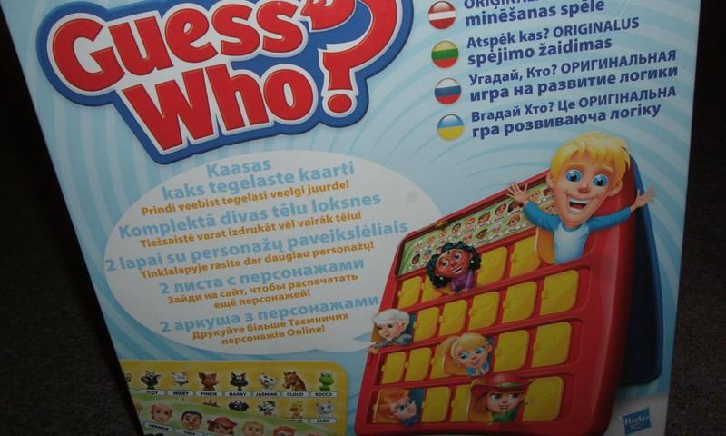"""РУБРИКА """"ИГРОТЕКА"""": «Угадай кто?» от Hasbro"""