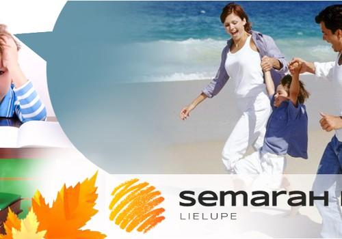 Поймай лето за хвост!  Отдохни вместе с SemaraH Hotel Lielupe перед началом учебного года!