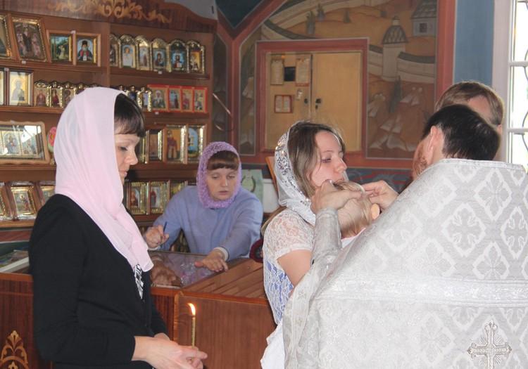 Достижение нашего лета: крещение Амелии в Москве