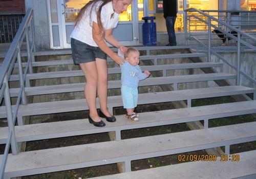 Чему может научить ребенка лестница