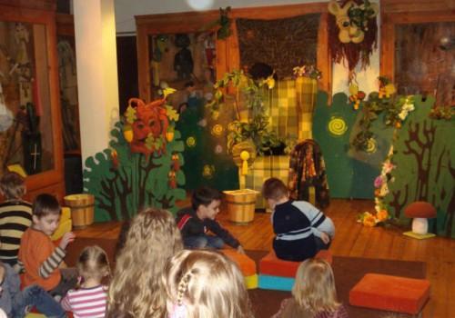 Первый раз Кукольный театр посетит...