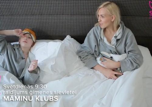 """Передача """"Мамин клуб"""" 6 мая на канале STV 1: мода для беременных, интервью с Айной Пойша и рецепт вкусного завтрака!"""