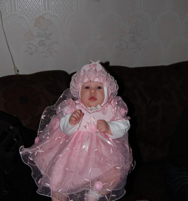 Ульяну покрестили!