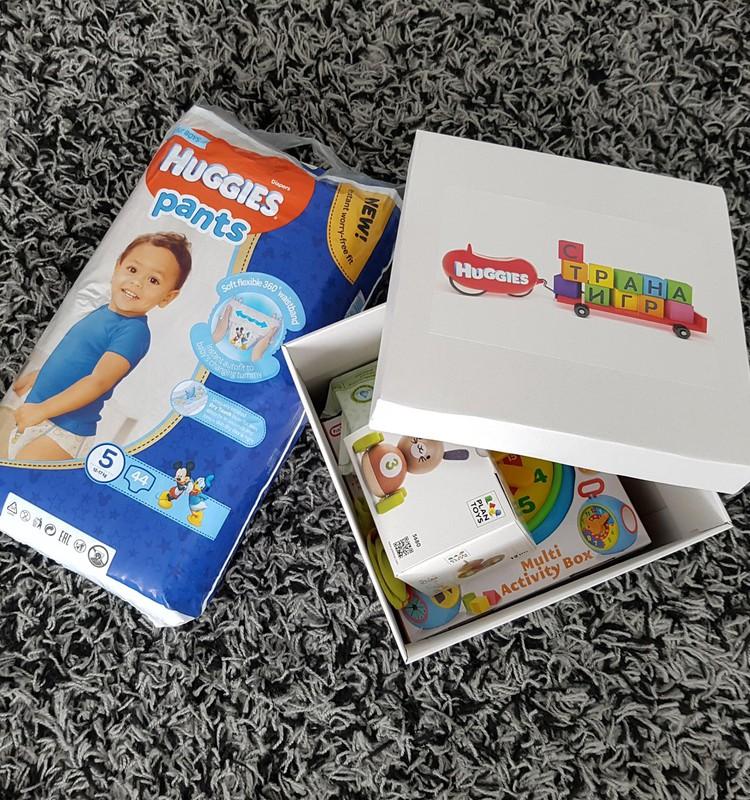 Вадимкин Huggies Gift Box от Маминого клуба