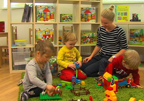 Игрушки для развития ребёнка - LEGO