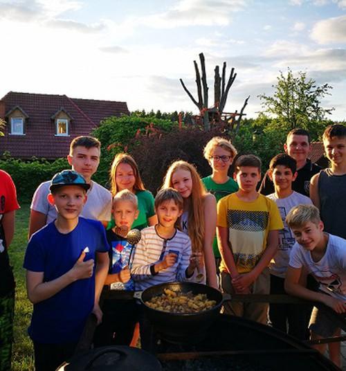 Лагерь для мальчишек «101воин», 3 часть