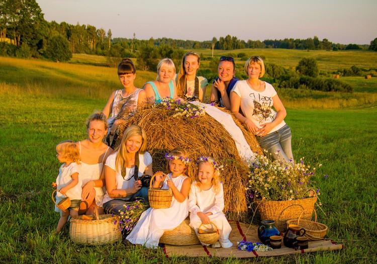 Мастер-класс «Лето в деревне» с фотографом Наталией Бренч!
