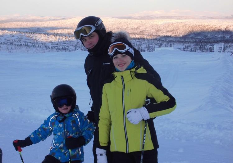 Наши зимние радости в Норвегии
