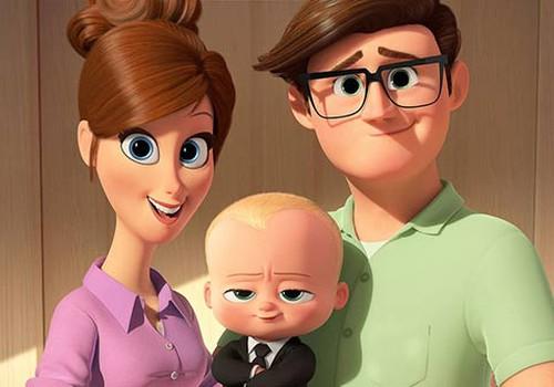 8 и 9 апреля премьера анимационного фильма «Босс-молокосос» на Детском утреннике!