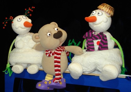 Латвийский театр кукол приглашает на зимние спектакли