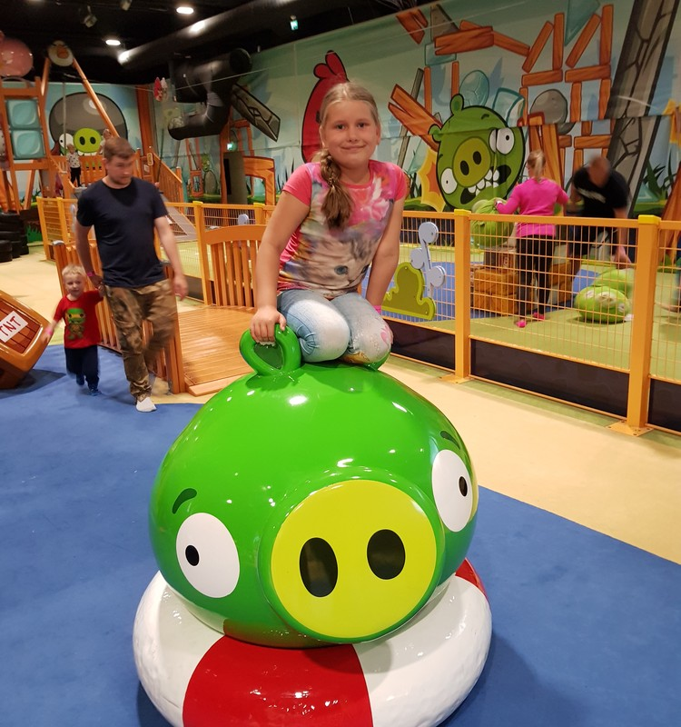 Финляндия. Парк Angry Birds