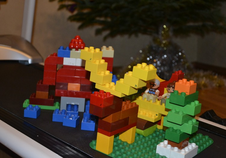 Lego мы с тобой играем