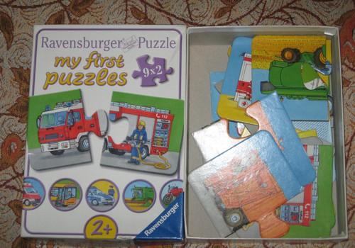 """НОВАЯ РУБРИКА """"ИГРОТЕКА"""": My first puzzles от Ravensburger"""