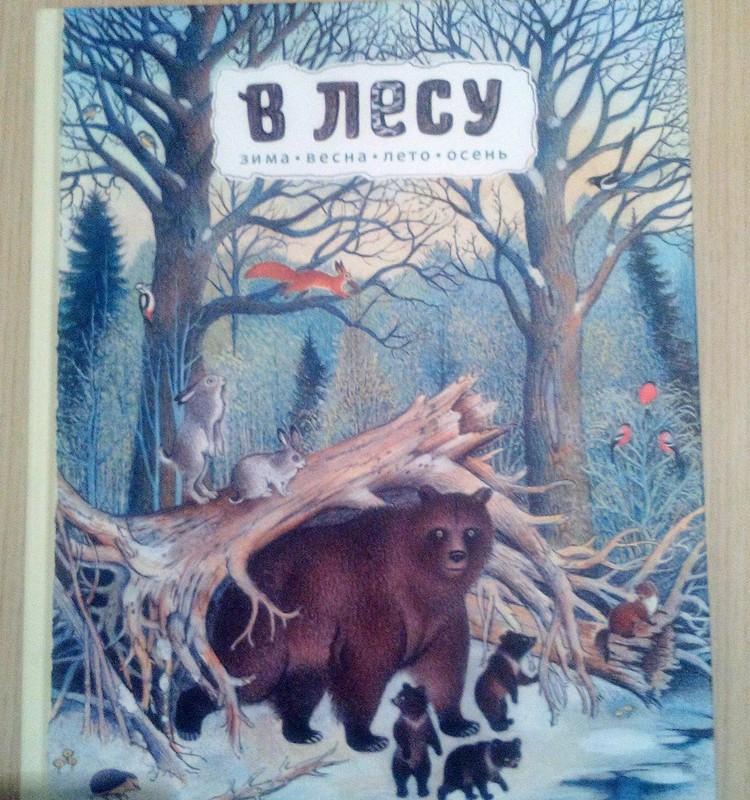 НАХОДКА: В лесу зима, весна, лето, осень