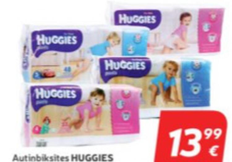 В РИМИ скидки на Huggies pants