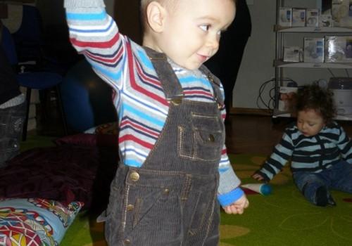 Первое занятие в Школе развития малышей МК: фото и видео