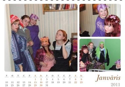 Я это сделала! Заказала свой календарь!