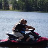катались на водных мотоциклах
