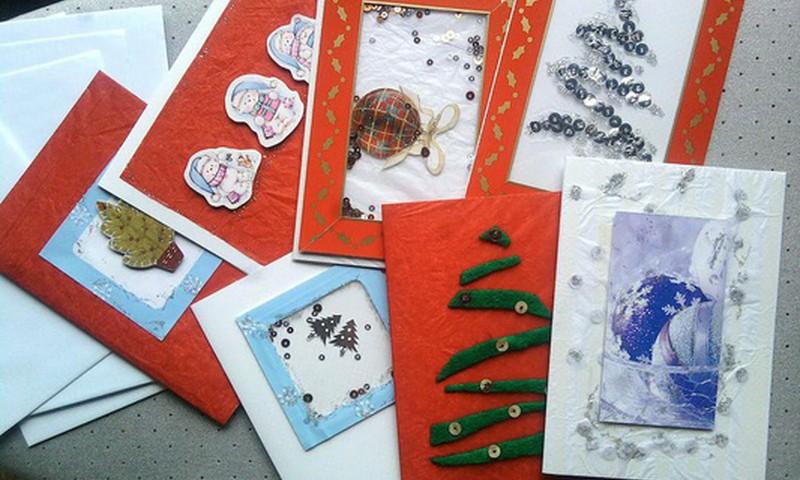 ФОТО: 42 идеи самодельных новогодних открыток