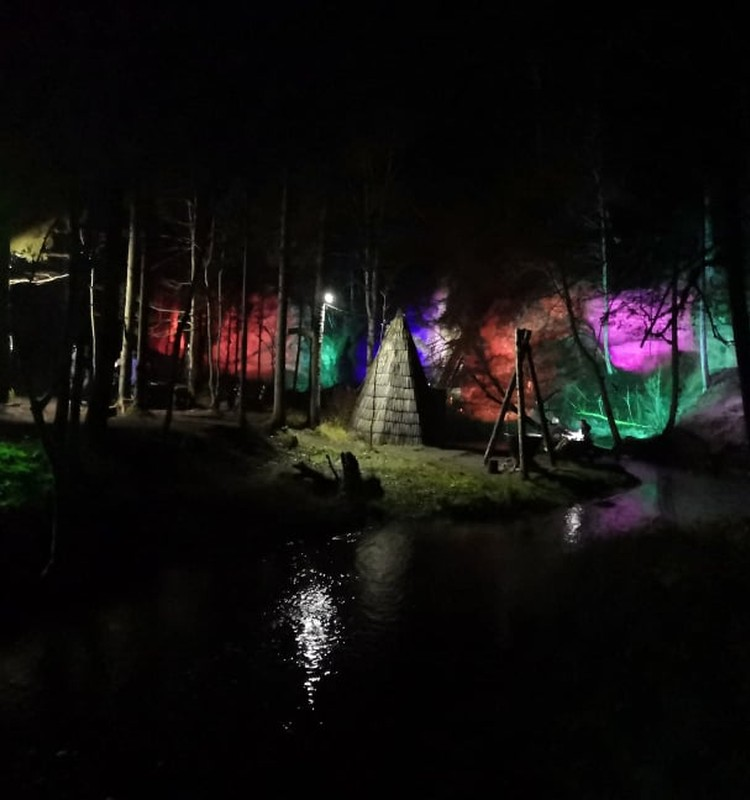 Осенние прогулки: тропы Цецилю и ночью красивы…