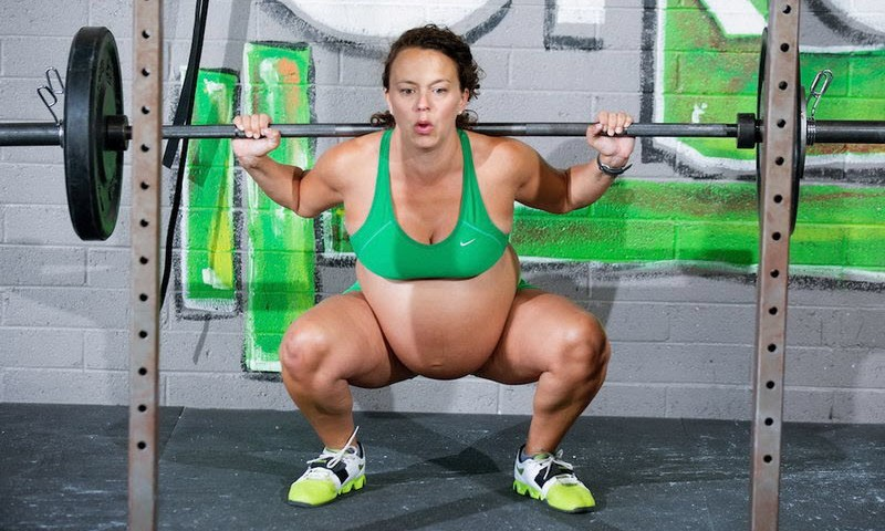 Беременность и профессиональный спорт. Как вам такое?