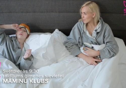 Видео 8 апреля: аква-аэробика для беременных, сахар в рационе малыша, уход за светлыми волосами и интервью с музыкантом Марой Упмане-Холштейн