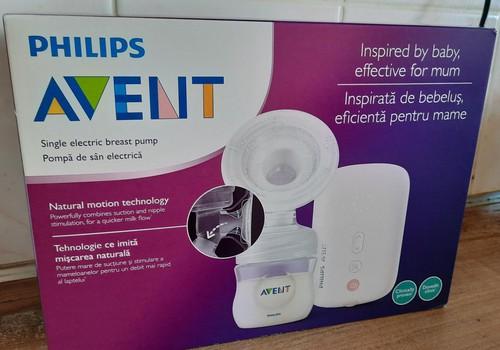 Электрический молокоотсос Philips Avent – отличный помощник для молодой мамы
