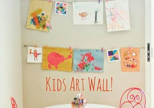 Организатор пространства: как навести порядок в детских рисунках?