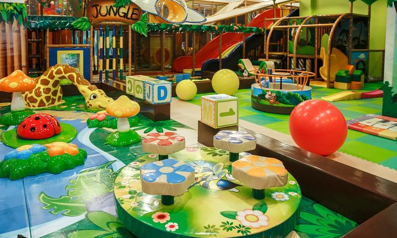 """Детская комната """"AbrakaDabra"""" в Riga Plaza"""